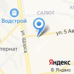 Родник Белогорья на карте Белгорода