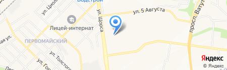 Средняя общеобразовательная школа №28 на карте Белгорода