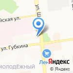 Ариелла на карте Белгорода