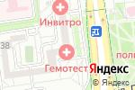 Схема проезда до компании Академия окон в Белгороде