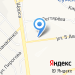 Сфера на карте Белгорода