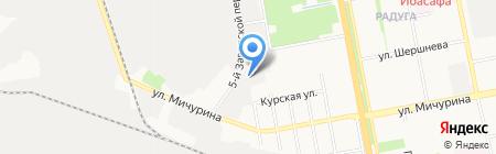 ВИСТА на карте Белгорода