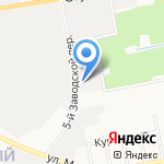 Диамаг на карте Белгорода