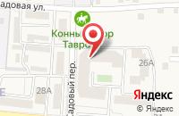 Схема проезда до компании Тавровская врачебная амбулатория в Таврово