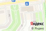 Схема проезда до компании Алмазная ресничка в Белгороде