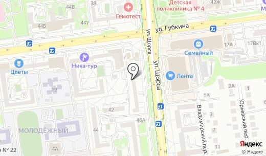 Белфарт. Схема проезда в Белгороде