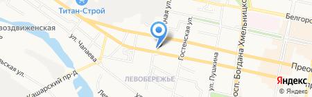 ФОН Лайв на карте Белгорода