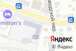 Схема проезда до компании Белгородский центр профессиональной подготовки и повышения квалификации в Белгороде