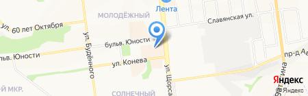 Шоколадная фантазия на карте Белгорода