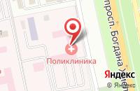 Схема проезда до компании Инкотел в Белгороде