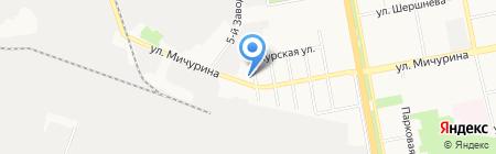Магазин автозапчастей на карте Белгорода