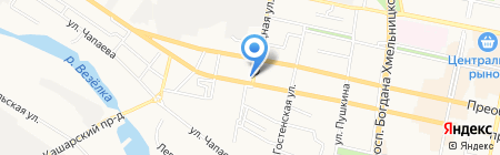 Драйв на карте Белгорода