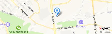 Милена на карте Белгорода