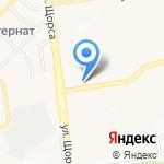 5 колесо на карте Белгорода