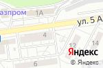 Схема проезда до компании Сахарок в Белгороде