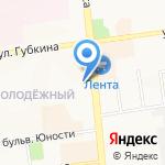 Грант на карте Белгорода