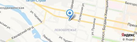 Белэлком на карте Белгорода