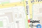 Схема проезда до компании Urban lounge в Белгороде