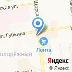 Шавермания на карте Белгорода