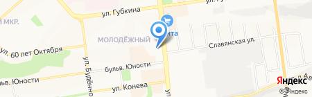 NakedArt на карте Белгорода