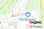 Схема проезда до компании Европейская языковая школа в Белгороде