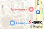 Схема проезда до компании Moon Room в Белгороде