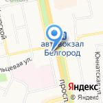 ВелоТочка 31 на карте Белгорода