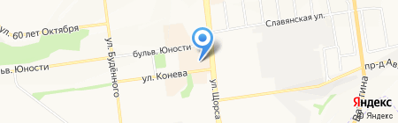 В ЯБЛОЧКО на карте Белгорода