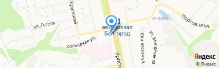 Империя Окон на карте Белгорода