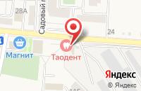 Схема проезда до компании ТЕРРА в Таврово