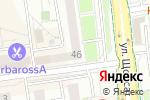 Схема проезда до компании Юность в Белгороде