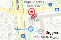 Схема проезда до компании Корсар-Тнк в Белгороде