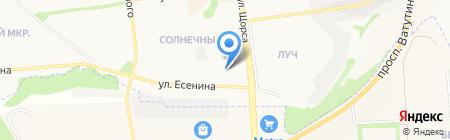 Точка Сборки на карте Белгорода