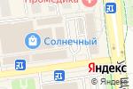 Схема проезда до компании Русские узоры в Белгороде