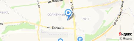 Технологии энергосбережения на карте Белгорода