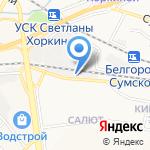Лидер на карте Белгорода