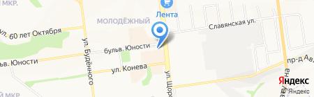 Плитка-Гранит на карте Белгорода