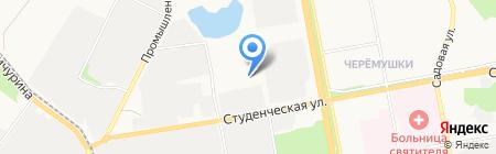 Дакар на карте Белгорода
