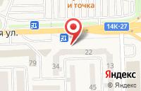 Схема проезда до компании ЭНЕРГИЯ в Дубовом