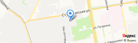 Дилер на карте Белгорода