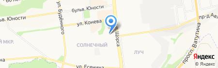 Железный друг на карте Белгорода