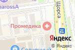 Схема проезда до компании Мир потолков в Белгороде