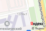 Схема проезда до компании Белгородский политехнический колледж в Белгороде