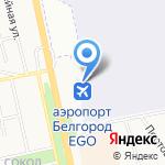 Белгород на карте Белгорода