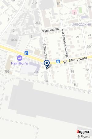 СТЕКОЛЬНАЯ МАСТЕРСКАЯ ОТРАЖЕНИЕ на карте Белгорода