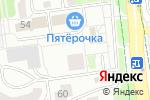 Схема проезда до компании Альянс-СБ в Белгороде