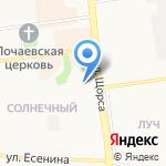 Хмельнофф на карте Белгорода