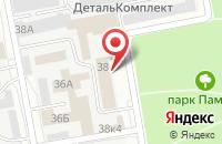 Схема проезда до компании Белагрогазаудит в Белгороде