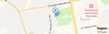Белагрогазаудит на карте Белгорода