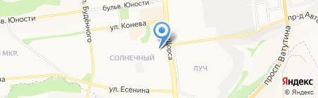 Альянс-СБ на карте Белгорода